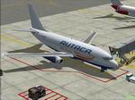 """FS                   2004 Boeing 737-2S3/Adv Rutaca Airlines YV169T """"Blue Belly""""                   Textures only"""