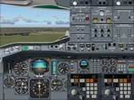 FS2004                   Airbus A300 B4-2C panel by Benoit Gaurant version 3.0. Aircraft                   included