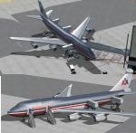 American Airlines Boeing 747-423 Delux Package