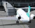 FSX                   Air Bagan Fokker F-100 Jetway Update