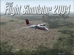 FS2004                     Air Canada Jazz Dash 8 over Calgary