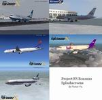 FSX                     Airliner Splashscreens package