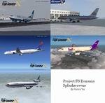 FSX                     Airliner Splashscreens package