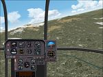 FS2000                   Alouette III Air-Glaciers - (Swiss rescue helicopter)