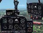 FS2002                   2D and 3D Panel for G-Max Alouette III