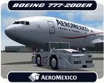 FSX/FS2004 Boeing 777-200ER Aeromexico NC