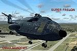 FS2004                   Sud Aviation Super Frelon SA321 heavy transport helicopter Package