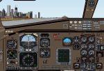 Alitalia                   Express ATR42-500, with panel & sounds