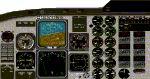 FS2002                   Beech 1900D Panel.