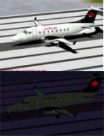 FS2000                   PRO Raytheon/Beechcraft B1900D Twin Turboprop Regional Commuter                   Air Nova