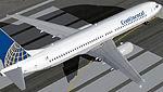 FS2004                   Boeing 737-900 Continental.Korean Air & KLM