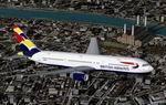 Boeing                   767-336ER Registration G-BZHA British Airways 'Exotic' Tailfin                   Livery 'Wings'