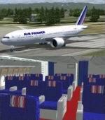 FS2004/2002,                   Boeing 777-200ER GE Air France.