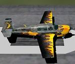 FS2004                   Mooney Bravo 'Flames' modified default Mooney