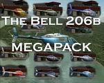 Fs2004                   Bell 206B Megapack.