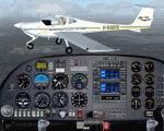 FS2004                     Diamond DA20-C1 Eclipse Moncton Flight College