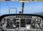 """FS2004                   Cessna 208 Caravan. """"Panoramic"""" view -"""