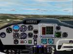FS2002                   Cessna 310 Panel