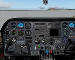FS2004                   - Photoreal Panel and Virtual Cockpit for Cessna-310Q