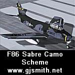 F86 Sabre-FU-333 Camo Scheme Textures