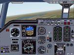 FS2000                   Alternative 2 Engined Jet Aircraft Panel.