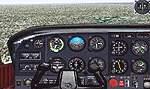 FS2000                   Default Cessna.rg - improved 3-d panel