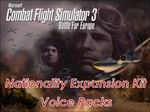 CFS3                     Nationality Expansion Kit ~ Voice Packs