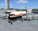 Challenge Air Transport DC-6A Textures
