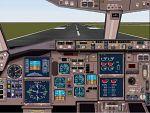 FS2000                   Panel for the Boeing 767-300 ER