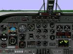 FS98                   Panel Updated Rockwell Commander 1000