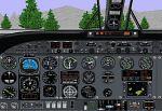 FS98                   Panel Updated Rockwell Commander 685
