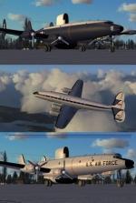 Lockheed Constellation  Set for FSX