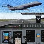 FS2004                   Bombardier/Canadair United Express CRJ700-ER.