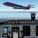 FS2004                     Bombardier/Canadair CRJ700-ER US Airways Express Std Livery
