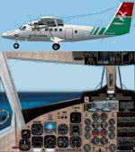FS2004                   Project GlobeTwotter DHC6-300. Air Seychelles Twin Otter Fleet                   Package