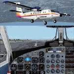 FS2004                   Project Globe Twotter DHC6-300. First Air