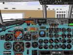 DC9-41                   panel in SAS style version 2.0 for FS98/FS2000.