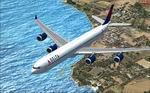 Airbus A340-600 Delta Textures