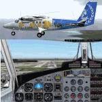 FS2002                   Dehavilland Twin Otter DHC6-300 Air Moorea