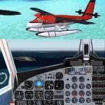 FS2004                   De Havilland DHC6-300 Float version. Maldivian Air Taxi 8Q-MAP