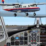 FS2004                   Project Globe Twotter DHC6-300 Malaysia Airlines.