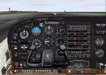 DreamFleet                     Cessna 182RG panel