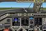 FS2002                     Embraer ERJ-145 Panel.