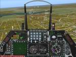 FS2004                   F-16 Falcon Panel with a working HUD