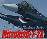 FS2004/FSX                    Mitsubishi F-2A Type Package: