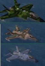 Lockheed Martin F-35A 3 livery pack