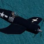 Late             war U.S. Navy F4U-1D Corsair for CFS2