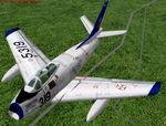 FS2000/CFS2                   FAP North American F-86F Sabre