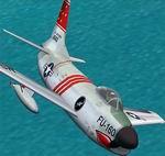 FS2002/CFS2                   F-86L Sabre Dog.