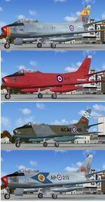 Canadair F-86F Sabre RCAF Canadian Package